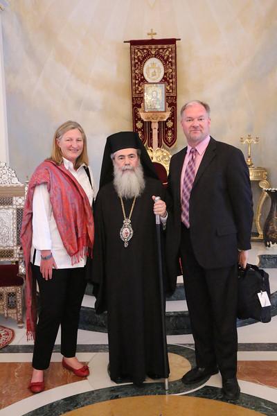 Sara Lisherness, His Beatitude Patriarch Theolpholis III, Doug Dicks