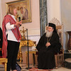 Sara Lisherness with His Beatitude Patriarch Theolpholis III