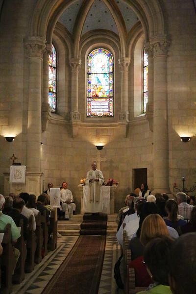 Evangelical Lutheran Christmas Church worship service
