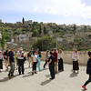 Mosaic of Peace participants in the Palestinian village of Battir
