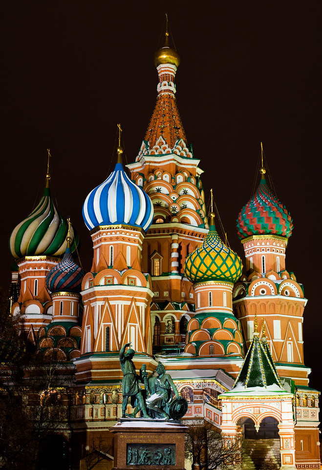 St. Basils, Red Square, Moscow