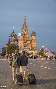 Traveller's on Red Square