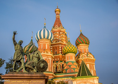 St Basil's Cathedral on Red Square.
