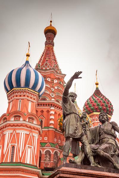 Па́мятник Ми́нину и Пожа́рскому, Москва