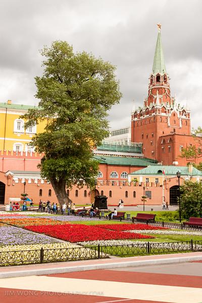 Троицкая башня, Москва