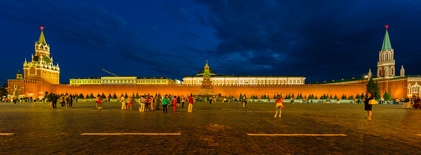Kremlin, as seen from Red Square