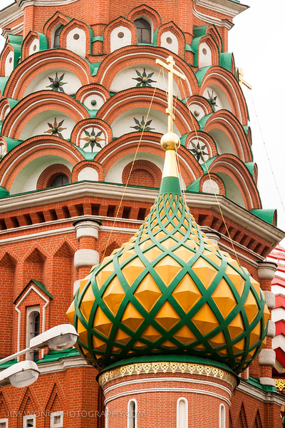 луковичная глава, Москва