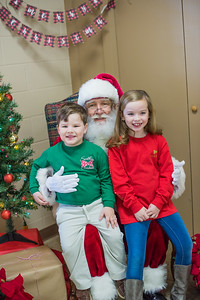 Moseley's with Santa
