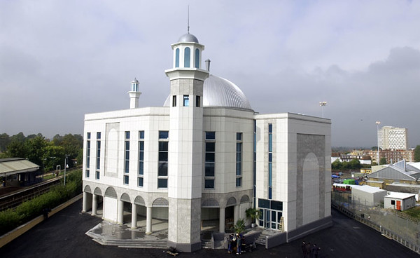 Mosque overhead view