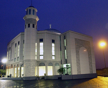 Baitul Futuh at Night