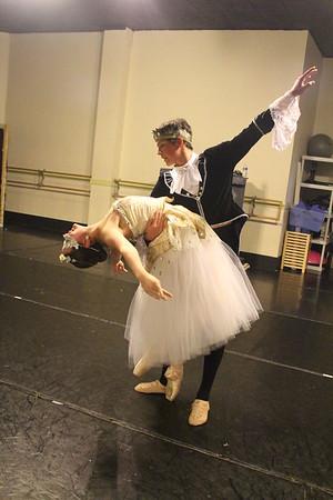 Cinderella Studio Dress Rehearsal