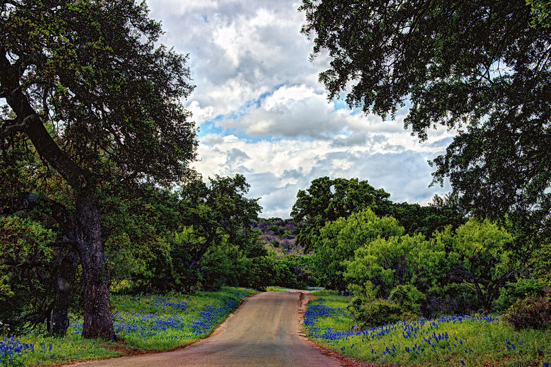 Willow City Loop in the Texas Hill Country