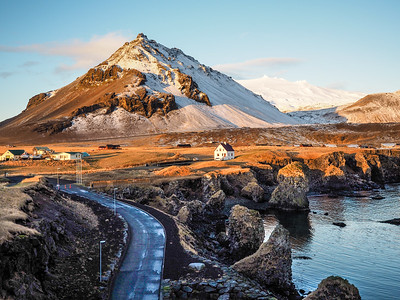 Snaefellsness Peninsula in Iceland