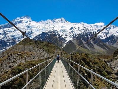 Hooke Valley Track in New Zealand
