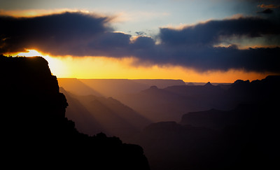 Sunset at the North Rim
