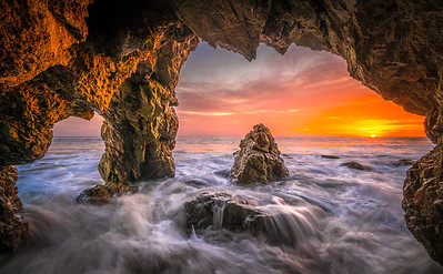 Malibu Fine Art Epic Sunset Seascape!  45Epic Dr. Elliot McGucken Fine Landscape and Nature Photography