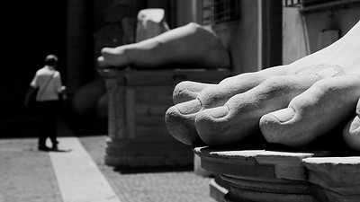 Fragments of Past Greatness, Musei Capitolini, Rome