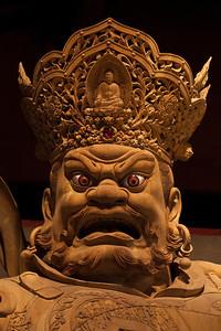 Temple Warriors, Lingyun Temple, Leshan