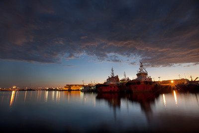 Tug Boats, Fremantle Harbour, Western Australia