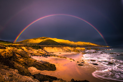Malibu Fine Art Rainbow Sunset Seascape!  45Epic Dr. Elliot McGucken Fine Landscape and Nature Photography