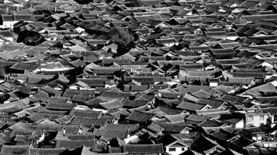 The Roofs of the Old Town, Lijiang, Yunnan