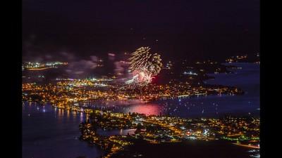 Osoyoos Canada Day Fireworks 2019