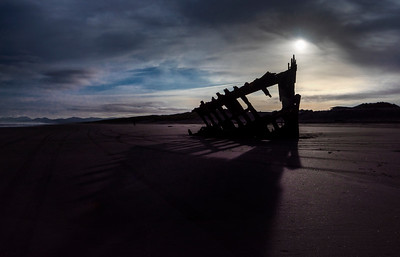 The Wreck of Peter Iredale