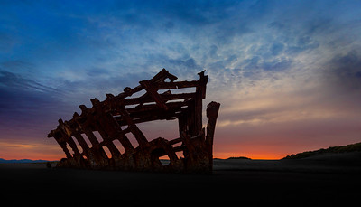The Wreck of Peter Iredale III