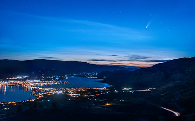 Comet Neowise Osoyoos