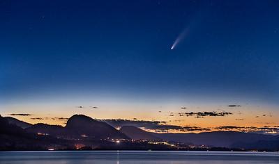 Comet Neowise Penticton