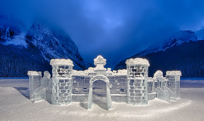 Castle Made Of Ice
