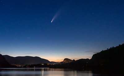 Comet Neowise Okanagan Falls