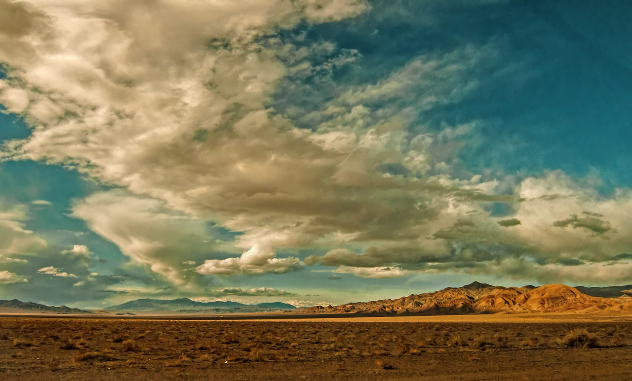 Desert Sand Endless Sky - near Tonopah, NV