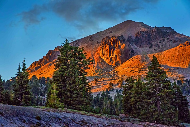 Lassen Peak Volcanic Plug