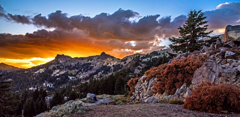 BrokeOff Mountain Sunset