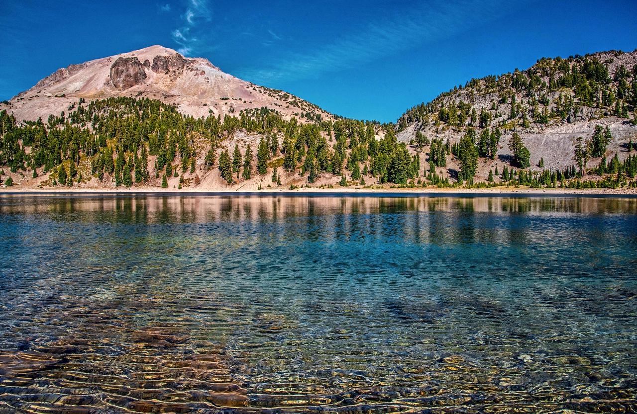 Lassen Peak and Helen Lake