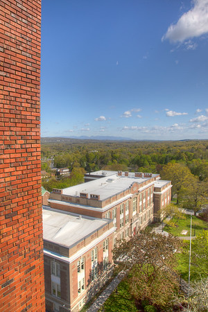 Old Main, seen from Jacobson Faculty Tower, SUNY New Paltz