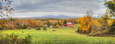 Chapel Farm, seen from Mohonk Road, High Falls, New York, United States