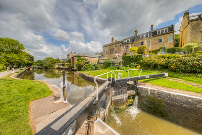 Kennet and Avon Canal, Bath, England
