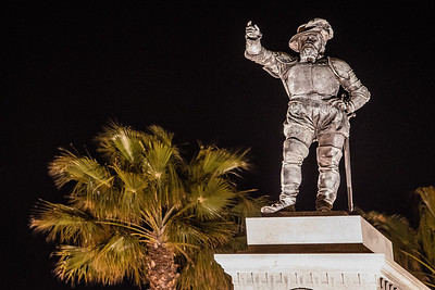 Ponce De Leon Statue, Saint Augustine, Florida, USA