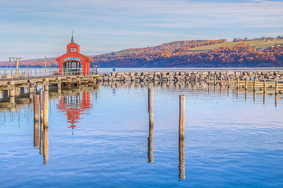 Seneca Lake, Watkins Glen, New York, USA