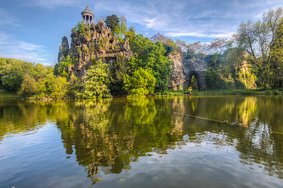 Parc des Buttes Chaumont, Paris, France