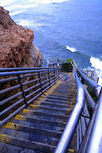 """Stairway to Heaven"" Sunset Cliffs"