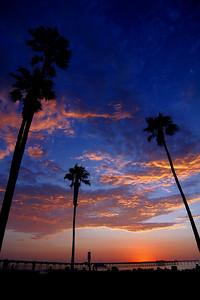 Ocean Beach July 4th sunset