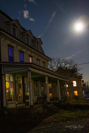 Full Moon at Kempton, Pa