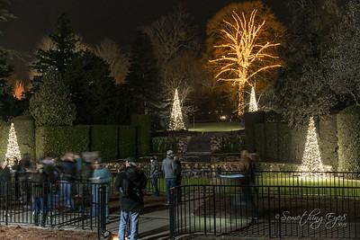 Longwood Gardens Christmas Lights 2015