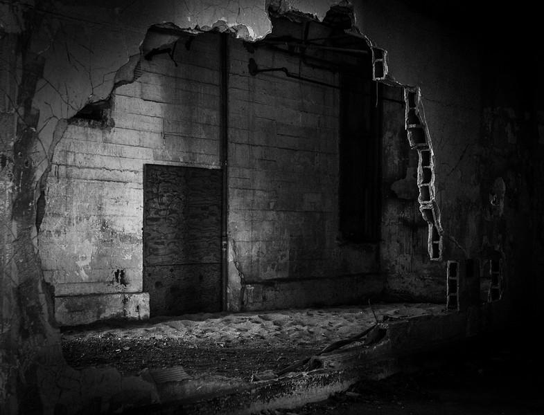 Angel Island Abandoned Spaces