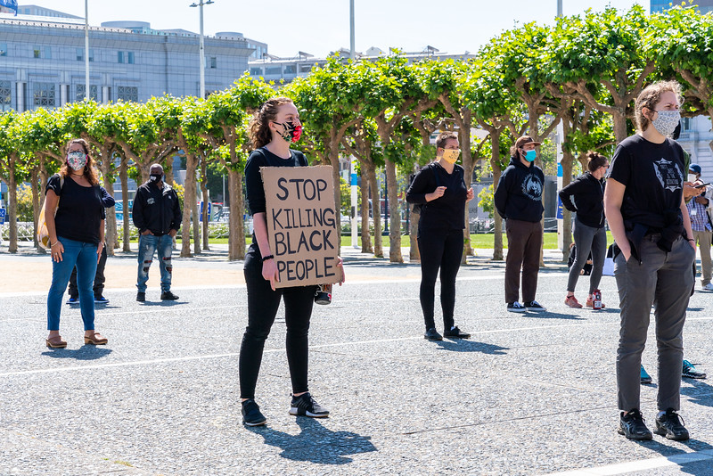 Black Lives Matter, San Francisco Civic Center