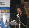 Lainie Kazan, the evenings emcee