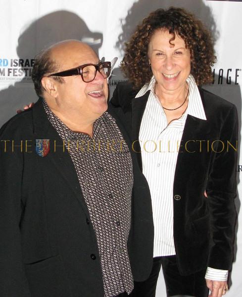 Danny DeVito and Rhea Pearlman